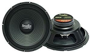 Pyramid WH10 10-Inch 300 Watt High Power Paper Cone 8 Ohm Subwoofer-5be9f75474c28