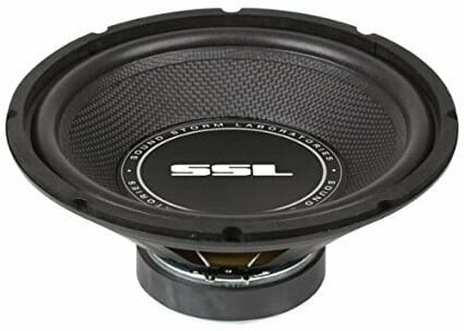 SOUND STORM SS10 SS10 inch Single Voice Coil (4 Ohm) 600-watt Subwoofer-5be9f75a35f4b