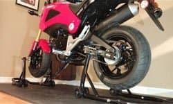 motorcycle lifting