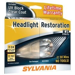 best headlight lens restorer