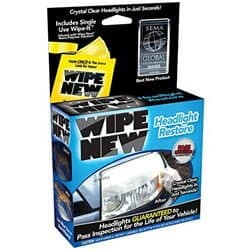 headlight lens restorer