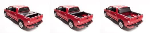 Panels flip Truck Bed Cover