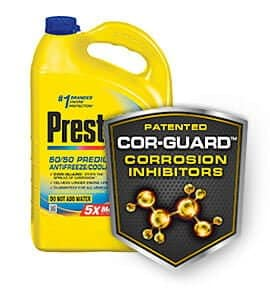 best coolant antifreeze prestone