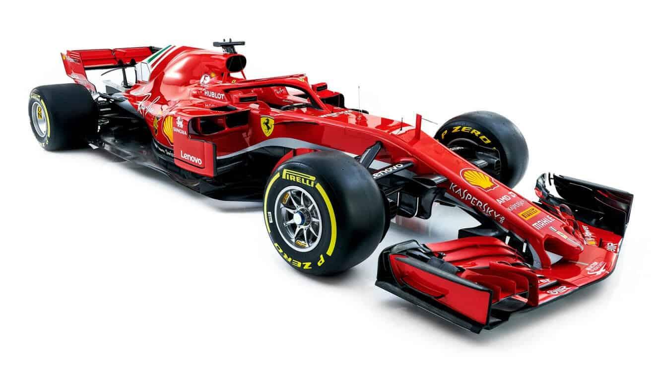 Ferrari SF71-H 2018