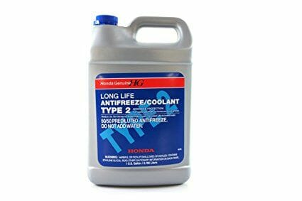 Genuine Honda Parts OL999-9011 Blue Type 2 Coolant - 1 Gallon Bottle-5be9f80ed898a