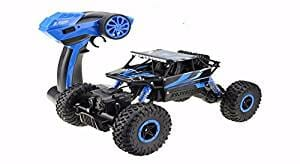 RC car, DeXop 2.4HZ Electric Rock Crawler Radio Control Cars Off-Road high-speed Racing Remote Control Cars-blue-5be9fb9f79029