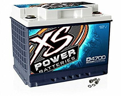 XS Power D4700 12V BCI Group 47 AGM Battery-5be9f828bc784