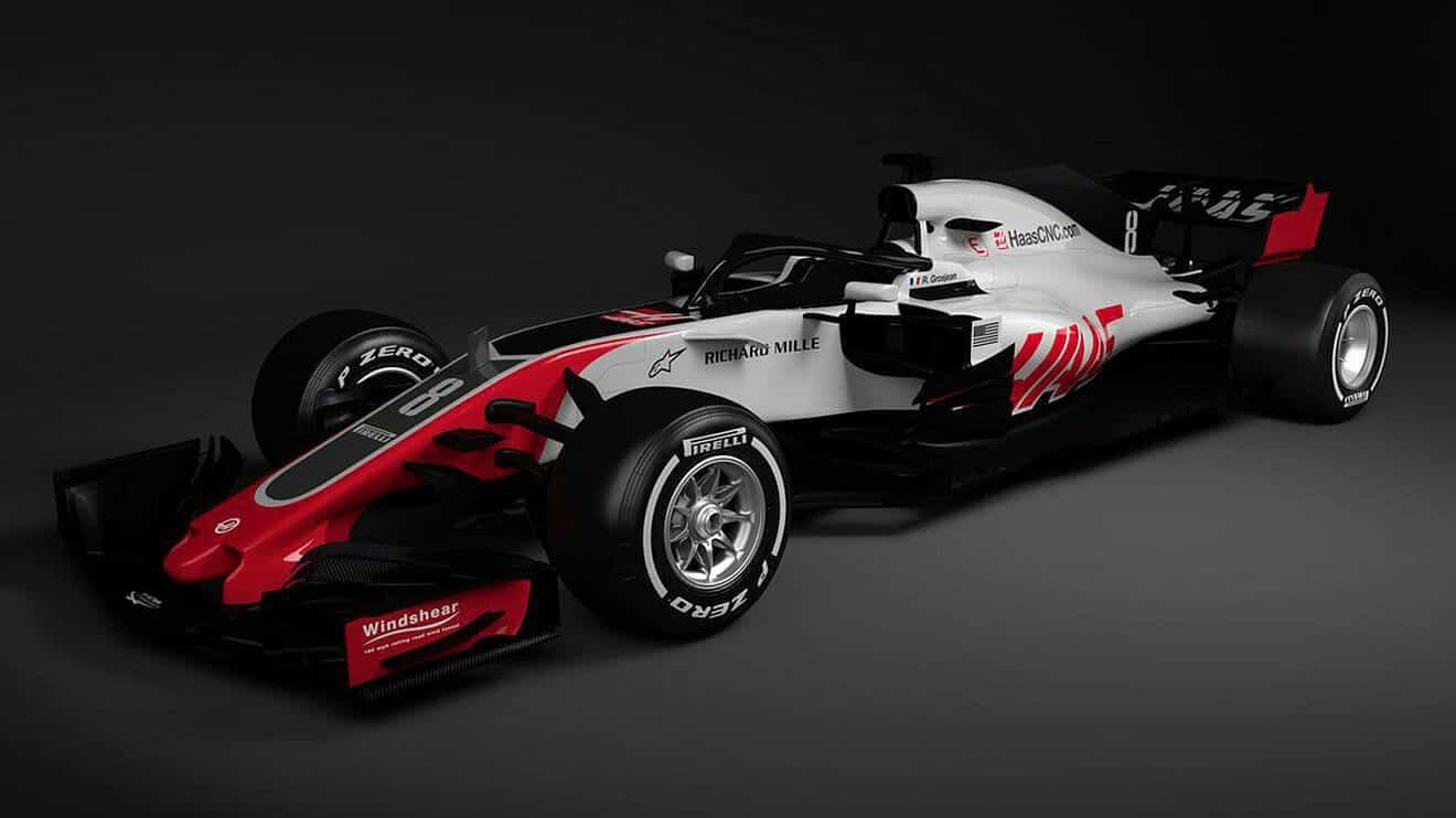 Haas Vf18 2018