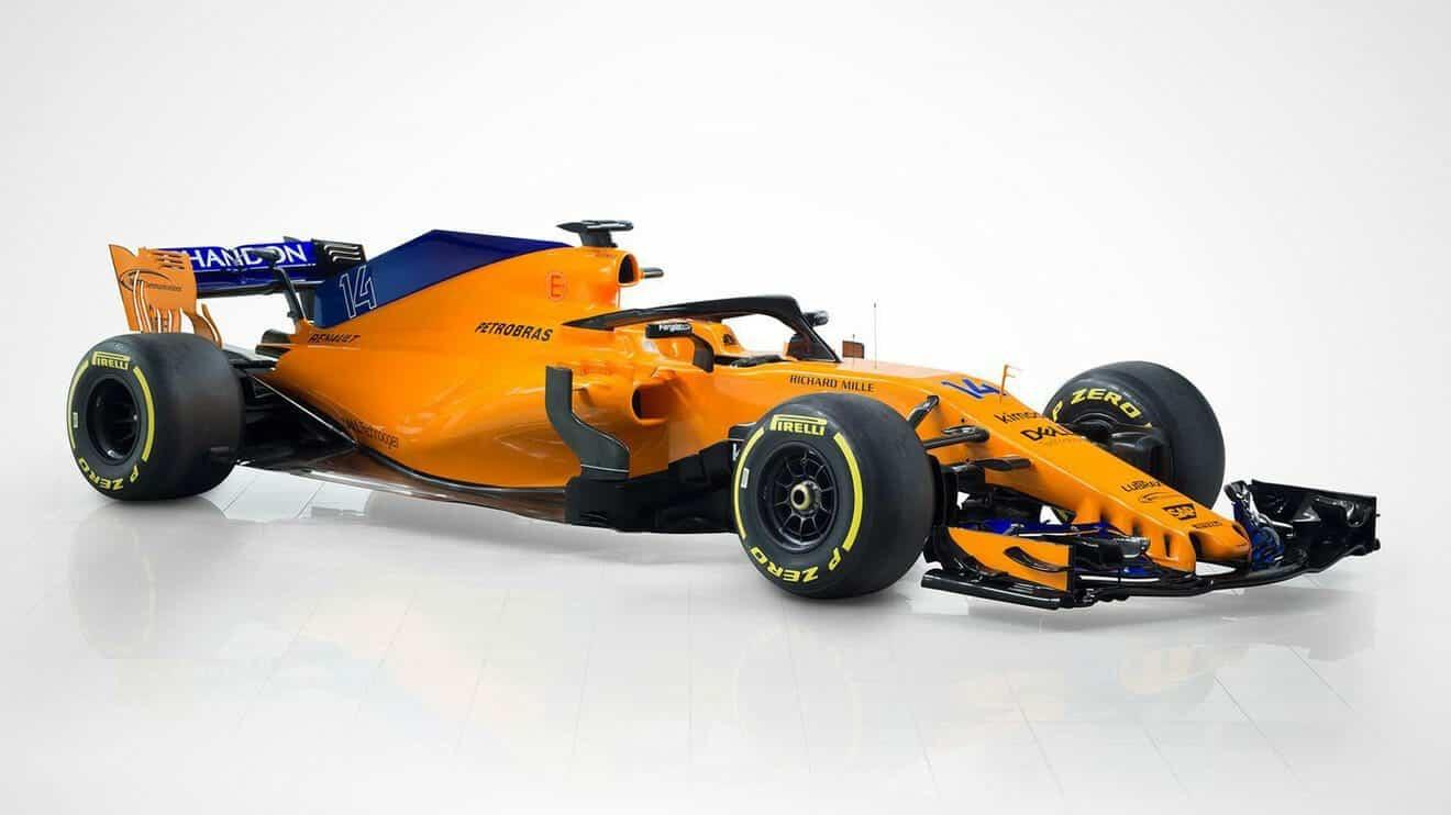 McLaren MCL33 F1 2018