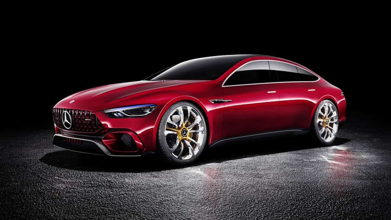 mercedes-benz AMG GT Coupe geneva 2018