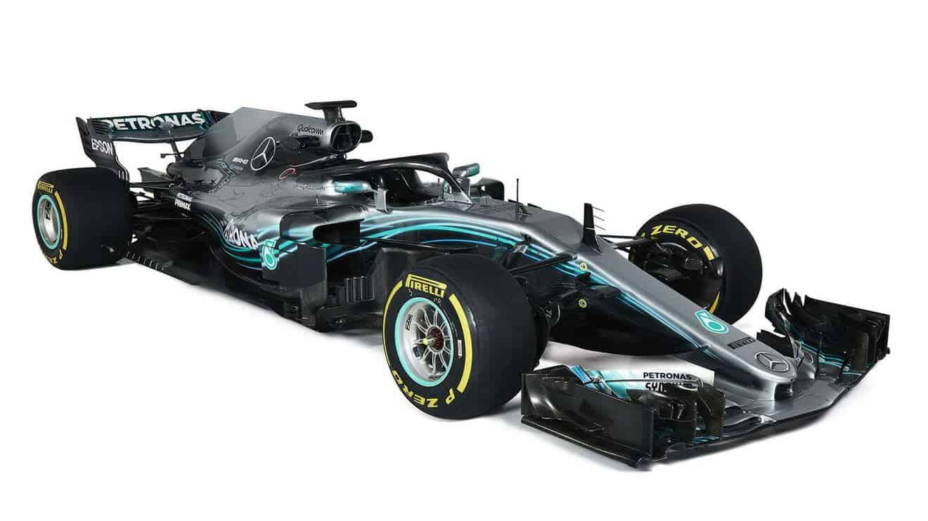 Mercedes AMG W09 EQ Power+ F1 2018