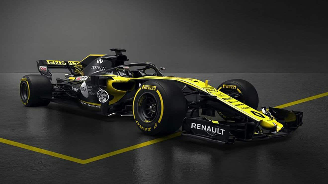 Renault R.S.18 F1 2018
