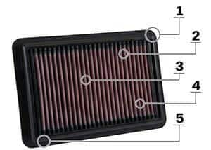 k&n air filter review