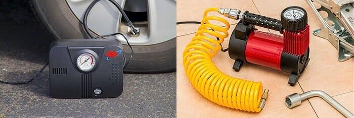 Air Compressor vs. Tire Inflator
