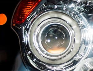 white headlight bulbs