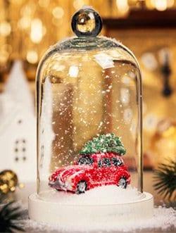 car Xmas decorations lights