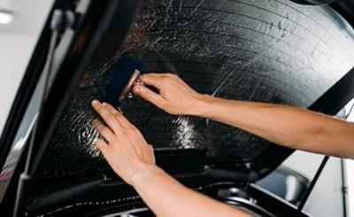 Car Tint Removal Method