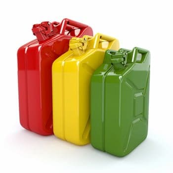 gas can colors