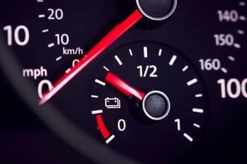 average car battery voltage