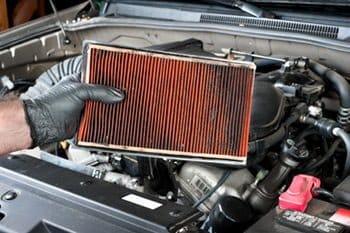 dirty air filter car jerking when driving
