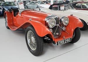 1938 SS 100 3.5 Liter Jaguar