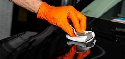 Car keying repair wax