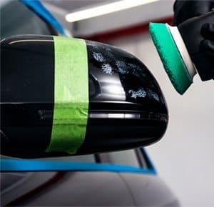 keyed car repair tape clean