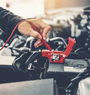 normal car battery voltage