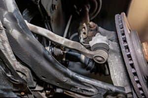 steering stabilizer noise when turning steering wheel