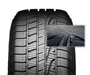 Goodyear Assurance WeatherReady Evolving Traction Grooves