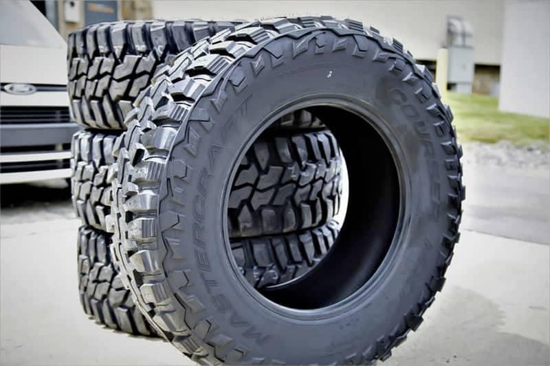 Mastercraft courser tires