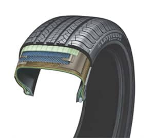 layers Latitude Tour tire