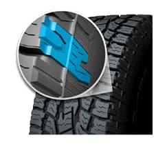 versatile all-terrain toyo tire Open Country A/T II